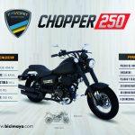 CHOPPER 250 NEGRO