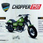 CHOPPER 250 VERDE