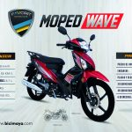 MOPED WAVE ROJO