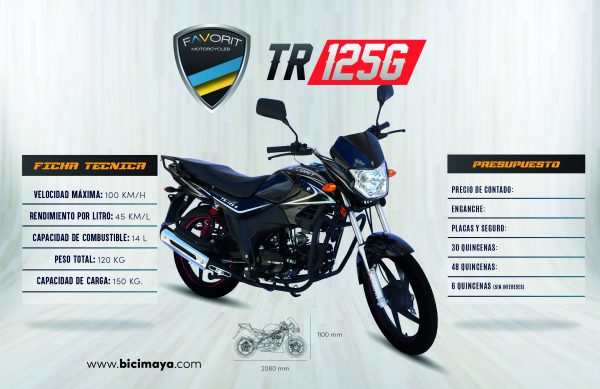 TR 125G NEGRO