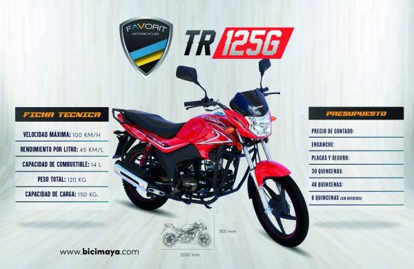 TR 125G ROJO