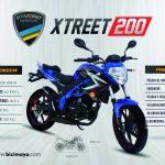 XTREET 200 AZUL