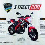 XTREET 200 ROJO