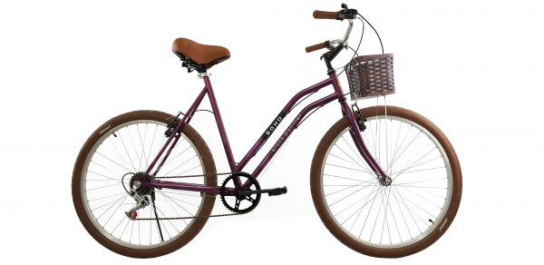 Bicicleta BOHO – Morada nueva