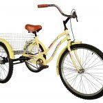 Tricicleta Beach Cruiser – Amarilla 2