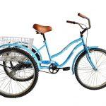 tricicleta azul